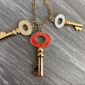 COACH Key Necklace